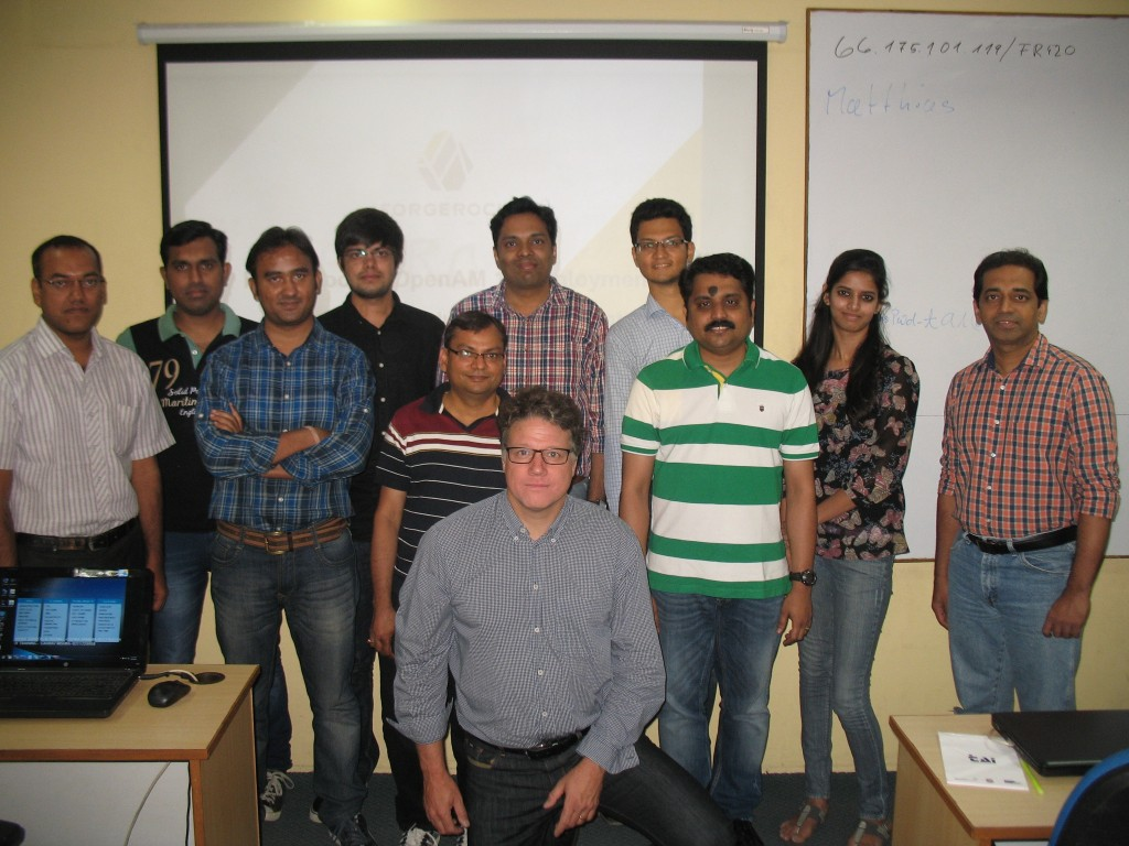 ForgeRock OpenAM Deployment Session in Bangalore, India